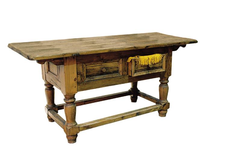 Как сделать деревенский стол
